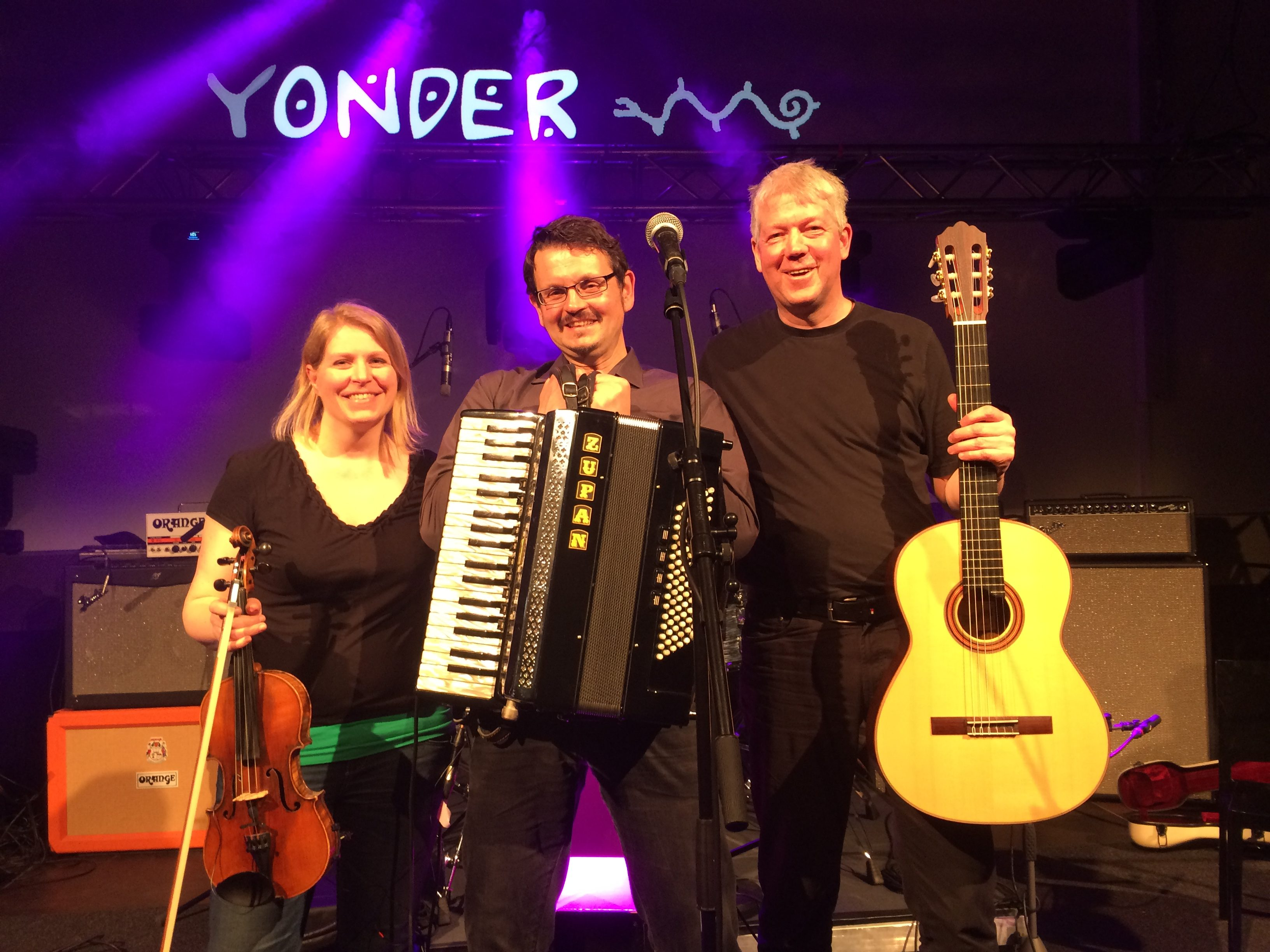 Yonder in Triobesetzung 2017